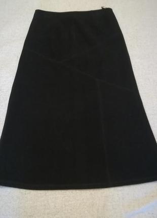 Теплая длинная юбка фирмы elegance collection, размер 50
