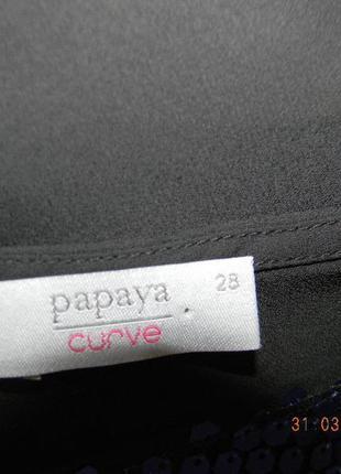 Нарядная блуза с паетками очень большого размера4
