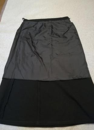 Теплая длинная юбка фирмы elegance collection, размер 502