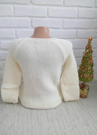 Вязаный стильный свитер#оригинальный свитер#молодежный свитер3