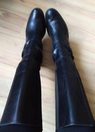 Сапоги кожаные5