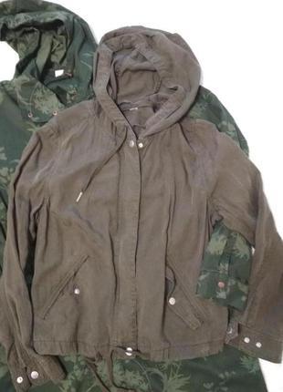 Куртка - бомбер, хакі