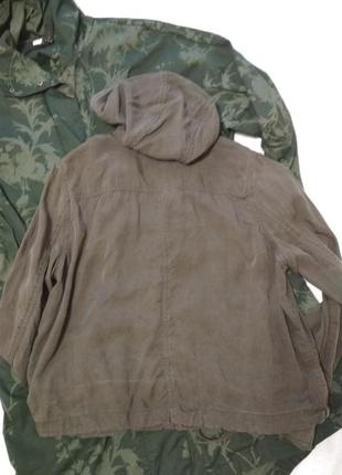 Куртка - бомбер, хакі3
