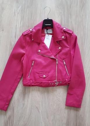 Basic куртка косуха bershka2
