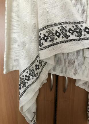 Накидка/кофта/свитер. размер m/s3