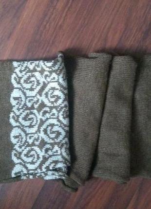 Теплий шарф2 фото
