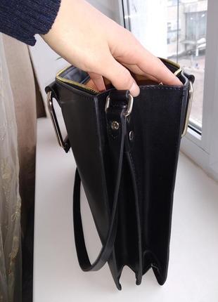 Кожаная сумка zara2