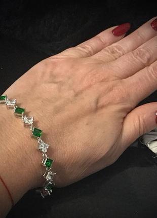 Брендовая ювелирная бижутерия xuping jewelry на каждый день!браслет с фианитами1