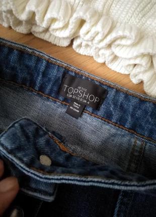 Джинсовая юбка на пуговицах от  topshop5 фото