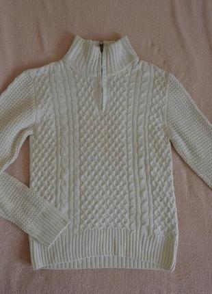 Фирменный свитер с шерстью для мальчика 12 - 14 лет