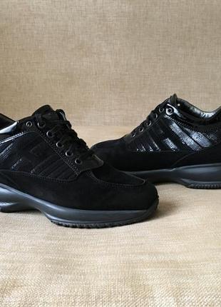 Замшевые кроссовки, кросівки hogan, 36-37 р.1