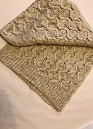 Тёплый шарф2