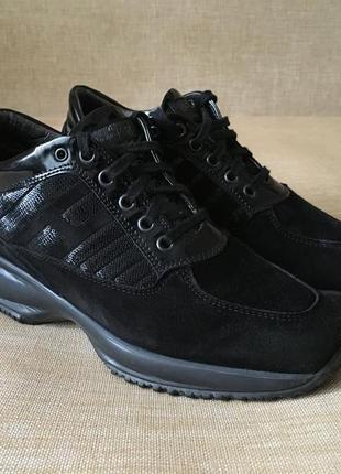 Замшевые кроссовки, кросівки hogan, 36-37 р.2