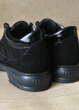 Замшевые кроссовки, кросівки hogan, 36-37 р.4