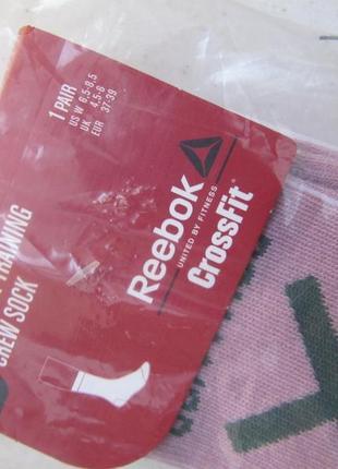 Женские спортивные носки reebok crossfit, р. 37-394
