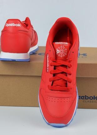 Reebok classic leather red ( 36,5\37) кроссовки рибок красные оригинал2