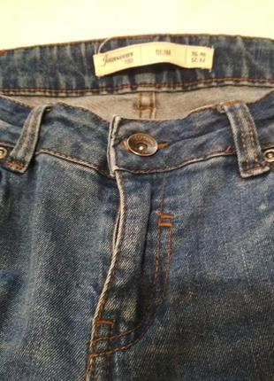Вкорочені джинси, сині.2