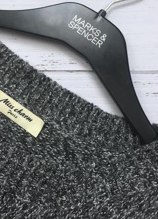 Крутой удлинённый свитер с патчами miss etam4 фото