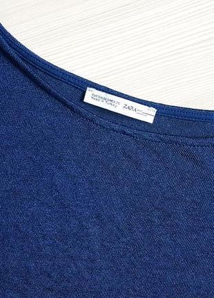 Блуза комбинированная zara2