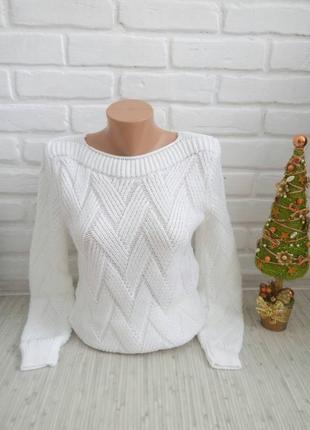 Нарядный вязаный свитер#молодежный свитер#2 фото