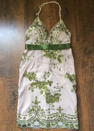 Шикарные платья дорого бренда for love & lemons1 фото