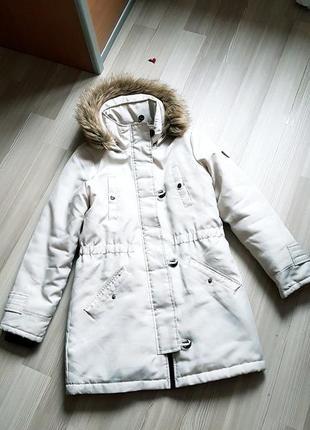 Парка пальто пуховик фирменный женский vero moda