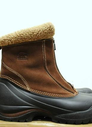 38/24.5 см, женские зимние ботинки/сапоги sorel thinsulate (как salomon, north face)1