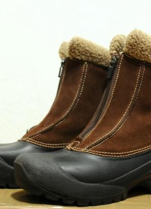 38/24.5 см, женские зимние ботинки/сапоги sorel thinsulate (как salomon, north face)2