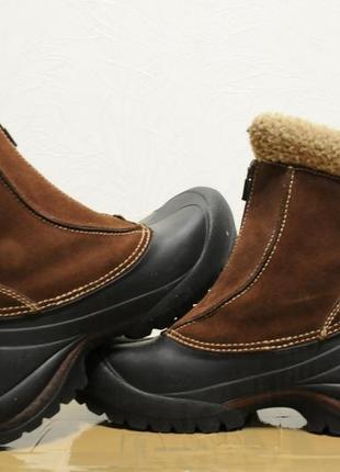 38/24.5 см, женские зимние ботинки/сапоги sorel thinsulate (как salomon, north face)3