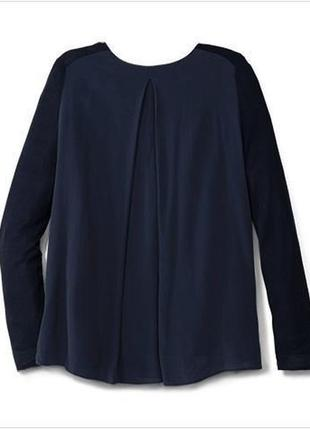 Нежная блуза с шифоновой спинкой от тсм tchibo (чибо), германия, размер украинский 54-563
