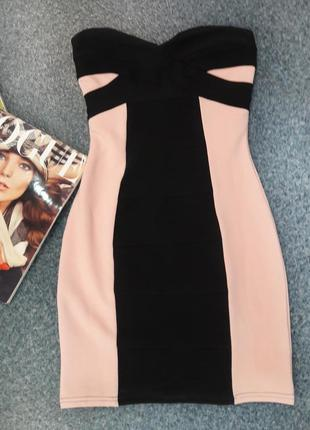 Бандажное платье tally weijl1 фото