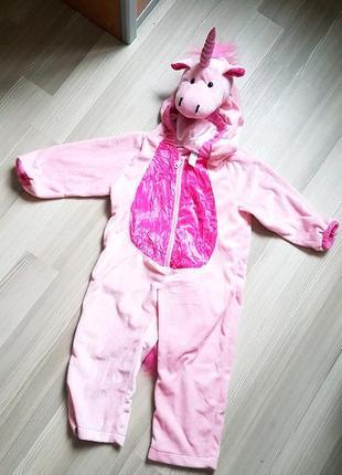 Ромпер нарядный утренник unicorn единорог сток 3т