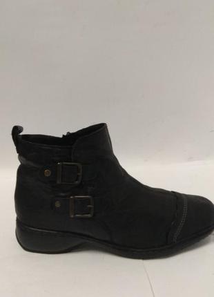 Супер мягкие кожаные ботиночки rieker1