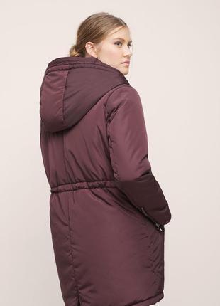 Mango violeta, куртка-парка, зима, р.хл, на ог 118-1204