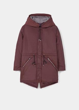 Mango violeta, куртка-парка, зима, р.хл, на ог 118-1202
