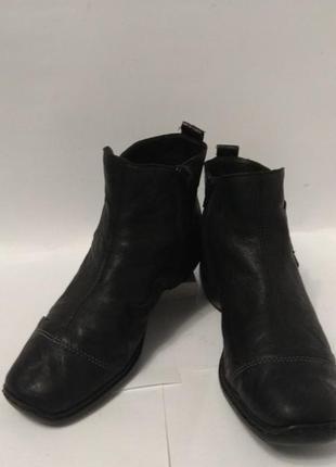 Супер мягкие кожаные ботиночки rieker3