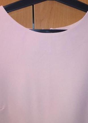 Платье ажурная отделка праздничное пудра кружего4