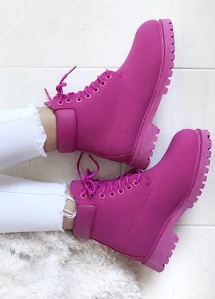 Женские зимние ботинки timberland с мехом разные размеры в наличии2