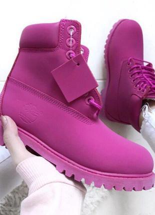 Женские зимние ботинки timberland с мехом разные размеры в наличии1