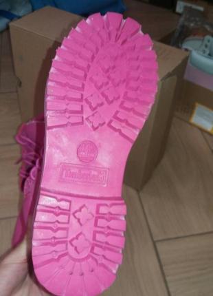 Женские зимние ботинки timberland с мехом разные размеры в наличии4