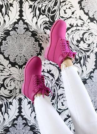 Женские зимние ботинки timberland с мехом разные размеры в наличии3