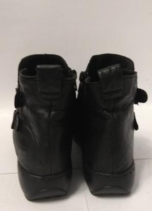 Супер мягкие кожаные ботиночки rieker5
