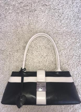 Англия! кожаная дизайнерская сумка на плечо tommy & kate.3