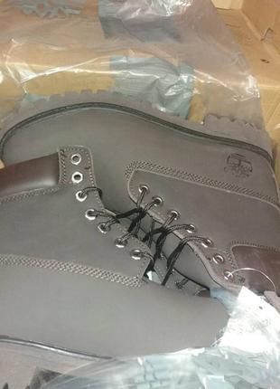 Темно-коричневые зимние ботинки унисекс timberland с мехом разные размеры в наличии5