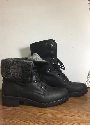 Ботинки женские clarks