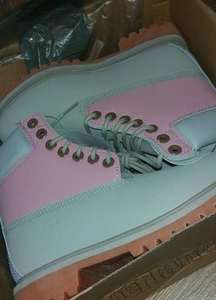 Разноцветные женские ботинки демисезон timberland разные размеры в наличии5