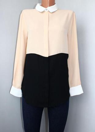 Блуза, блузка, рубашка  zara р. м