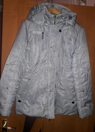 Курточка теплая зима.