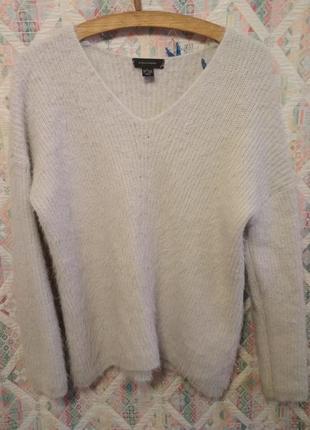 Нежнейший пушистый свитер1