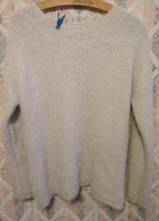 Нежнейший пушистый свитер3